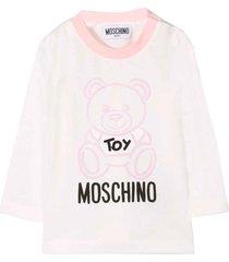 moschino light pink t-shirt