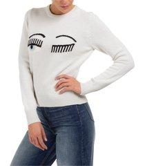 maglione maglia donna girocollo flirting