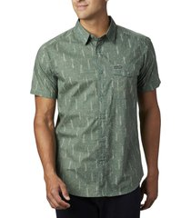 camisa hombre summer chill verde columbia