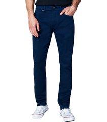 men's blanknyc the wooster slim fit twill pants, size 33 - grey