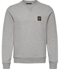 belstaff sweatshirt sweat-shirt trui grijs belstaff