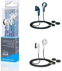 audifonos estereo sennheiser mx 365 senheiser azul