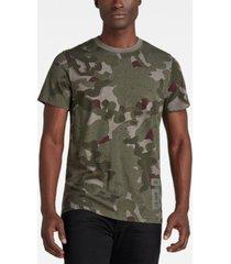 men's camo all over print t-shirt
