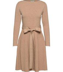 ancelin knit dress jurk knielengte beige morris lady