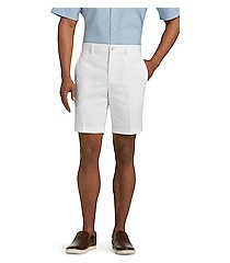 traveler collection tailored fit twill shorts clearance by jos. a. bank