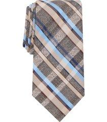 perry ellis men's fortin classic plaid tie