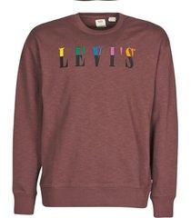 sweater levis ssnl serif crew sasafrass