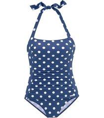 badpak lascana 1-delig zwempak lissy blauw