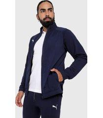 chaqueta azul navy-blanco puma sideline