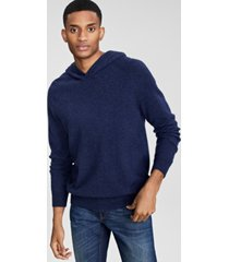 club room men's cashmere hoodie, created for macy's