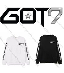 kpop got7 fly concert jackson sweater mark hoodie unisex pullover jb jr bambam