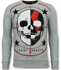 sweater local fanatic skull god of war