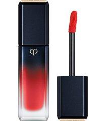 cle de peau beaute radiant liquid rouge matte lipstick - silk kimono