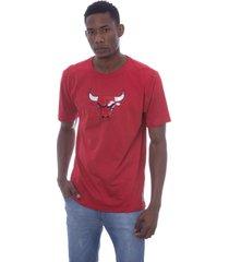 camiseta nba estampada vinil chicago bulls vermelha - kanui