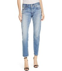 women's moussy vintage magee tapered jeans, size 24 - blue