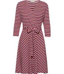 celia knälång klänning röd jumperfabriken