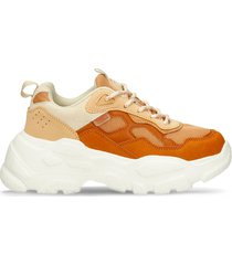 tenis casuales beige north star bubble mujer