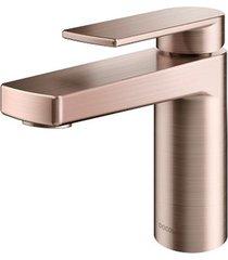 torneira para banheiro mesa bica baixa argon cobre escovado - 00847369 - docol - docol