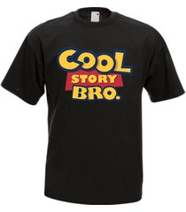 cool story bro pixar toy story funny men's t-shirt