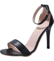 sandalias de tacón alto para mujer zapatos de estilo europeo y americano para mujer