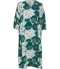 uinua pieni pioni dress knälång klänning grön marimekko