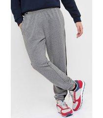 pantalón gris topper recorte urb