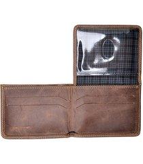 carteira de couro modelo l hendy bag caramelo estonado - kanui