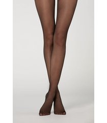 calzedonia 20 denier ultra comfort sheer tights woman black size 4
