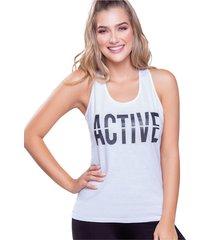 camiseta adulto femenino blanco marketing  personal