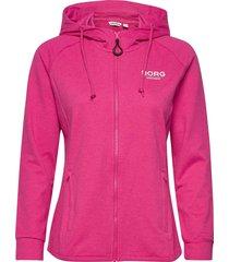 jacket francesca francesca hoodie rosa björn borg