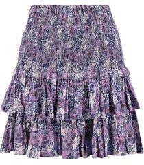 isabel marant étoile naomi ruffled skirt