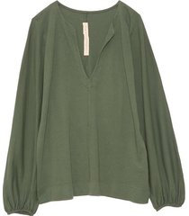 getty blouse in army