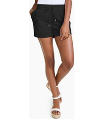 style & co cotton eyelet shorts, created for macy's