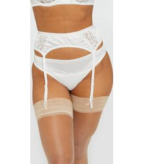 nly lingerie opulence suspender belt shaping & support
