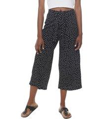 pantalón culotte lazo negro puntos  corona