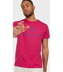 gant d1. color lock up ss t-shirt t-shirts & linnen love