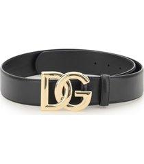 dolce & gabbana smooth calfskin belt