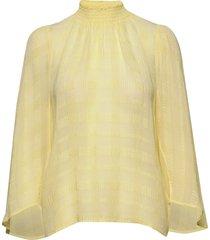 reoiw blouse blouse lange mouwen geel inwear