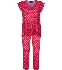 pyjama ringella rood::wit::marine
