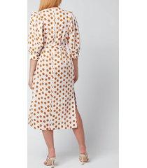 baum und pferdgarten women's alya dress - cathay spice mega dot - eu 38/uk 10