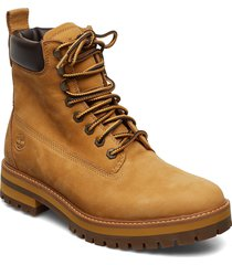 courma guy boot wp snörade stövlar brun timberland