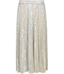 blumarine pleated long skirt