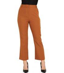 pantalón formal bolsillos camel nicopoly