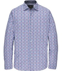 long sleeve shirt print on poplin rococco red