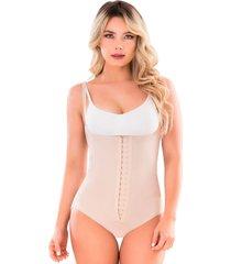 faja body panty shape concept -beige