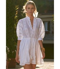 melissa odabash rita dress white