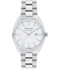 women's movado heritage datron diamond bracelet watch, 31mm