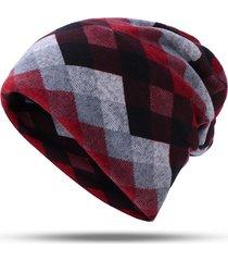 sciarpa calda multifunzionale del maglione antivento casuale esterno del maglione del cashmere del cappello del cashattore di lattice delle donne