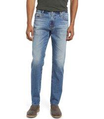 ag men's tellis slim fit jeans, size 29 x 32 in rising sun at nordstrom