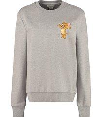etro oversize cotton sweatshirt